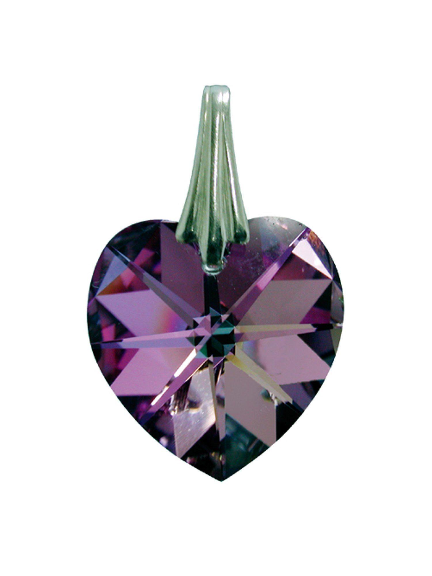 Adelia´s Amulett Kristallherz Rosa