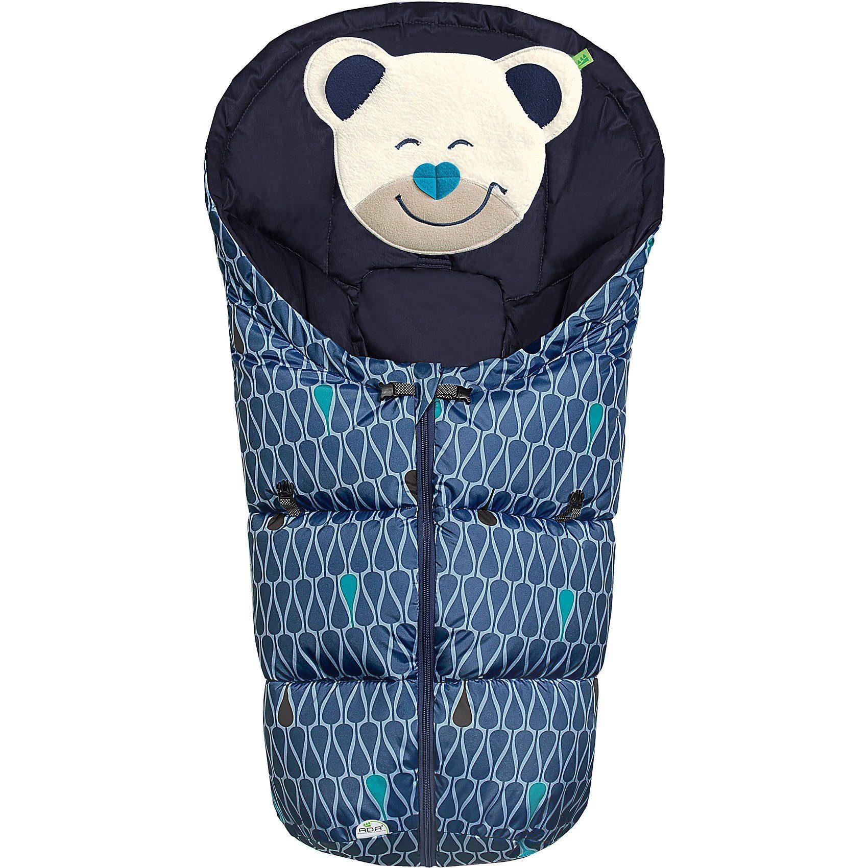 Odenwälder Fußsack Mucki Fashion Tear Drops für Babyschale und Kinderwa