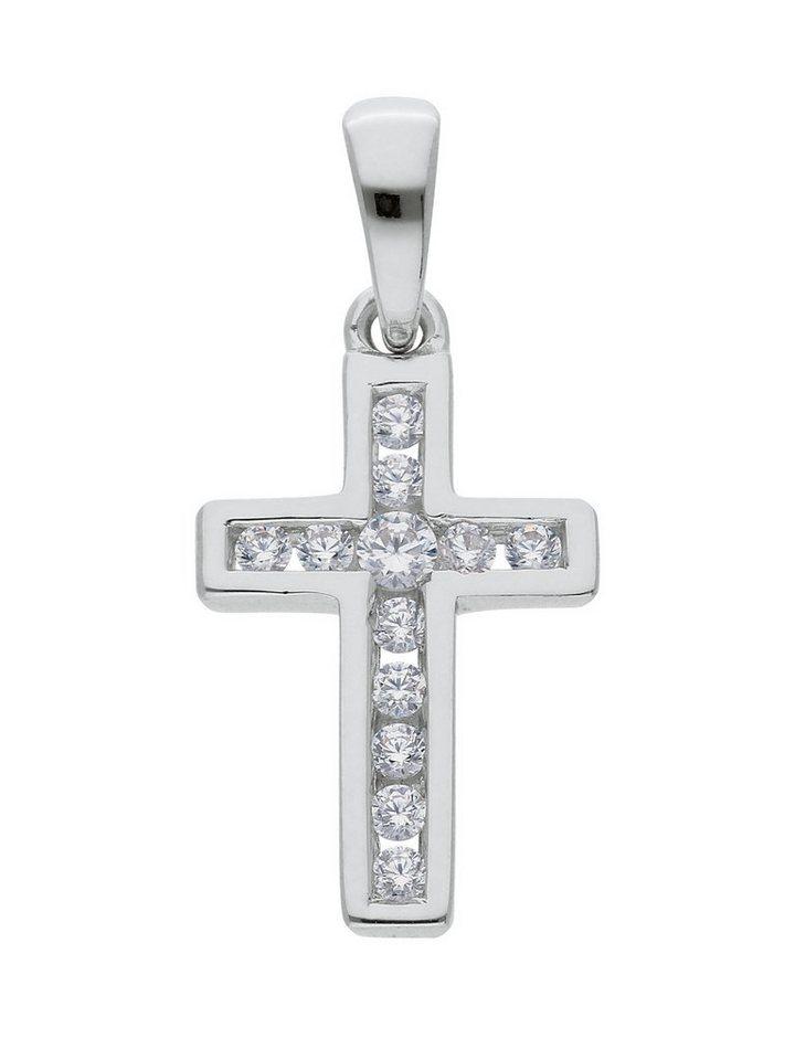 Adelia´s Kettenanhänger »Silber Anhänger« 925 Sterling Silber mit Zirkonia   Schmuck > Halsketten > Kettenanhänger   Adelia´s