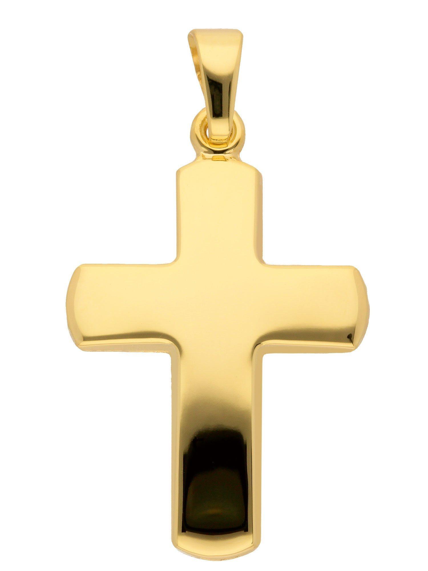 Adelia´s Kettenanhänger »Gold Anhänger« 14 k 585 Gelbgold   Schmuck > Halsketten > Ketten ohne Anhänger   Goldfarben   Adelia´s
