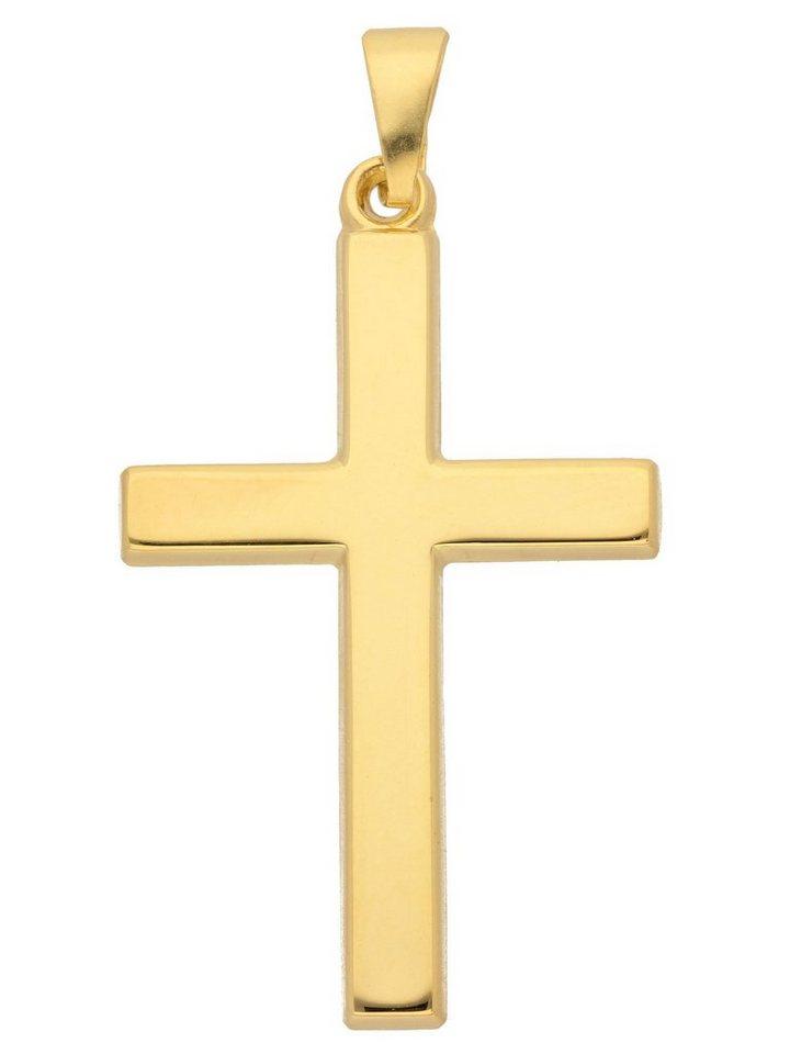 Adelia´s Kettenanhänger »Gold 8 k (333) Kreuz Anhänger« 8 k 333 Gelbgold   Schmuck > Halsketten > Ketten ohne Anhänger   Goldfarben   Adelia´s