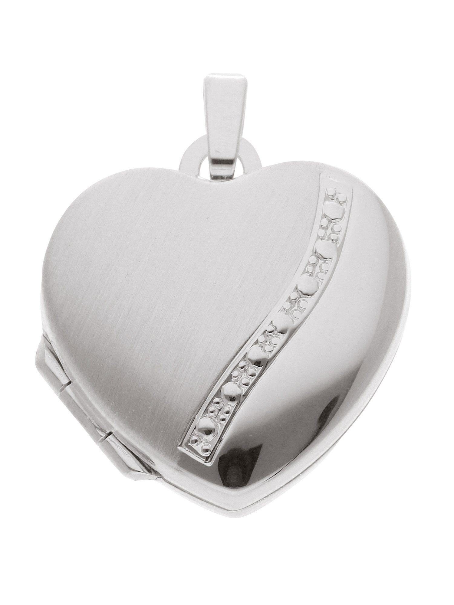 Adelia´s Kettenanhänger »Silber 925 Sterling Silver Medaillon Anhänger« 925 Sterling Silber