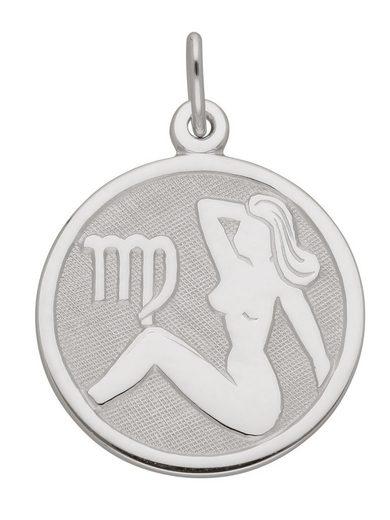 Adelia´s Kettenanhänger »Silber 925 Sterling Silver Sternzeichen Anhänger« Jungfrau 925 Sterling Silber Ø 1.57 cm