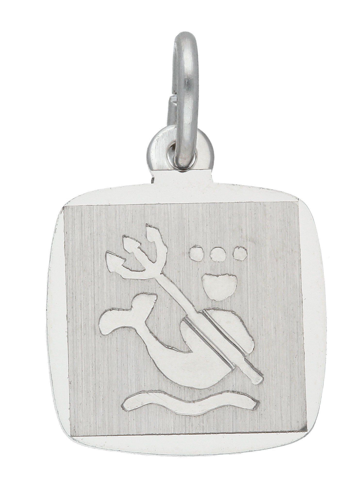 Adelia´s Kettenanhänger »Sternzeichen Silber Anhänger« Wassermann 925 Sterling Silber | Schmuck > Halsketten > Ketten ohne Anhänger | Silber | Adelia´s