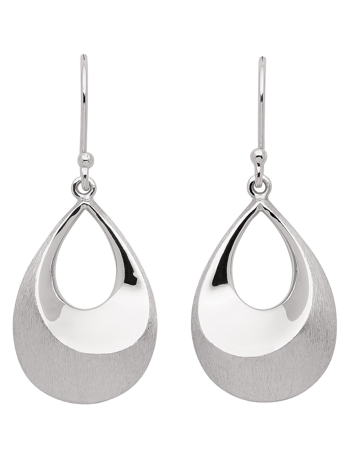 Adelia´s Paar Ohrhänger »Silber Ohrringe« 925 Sterling Silber