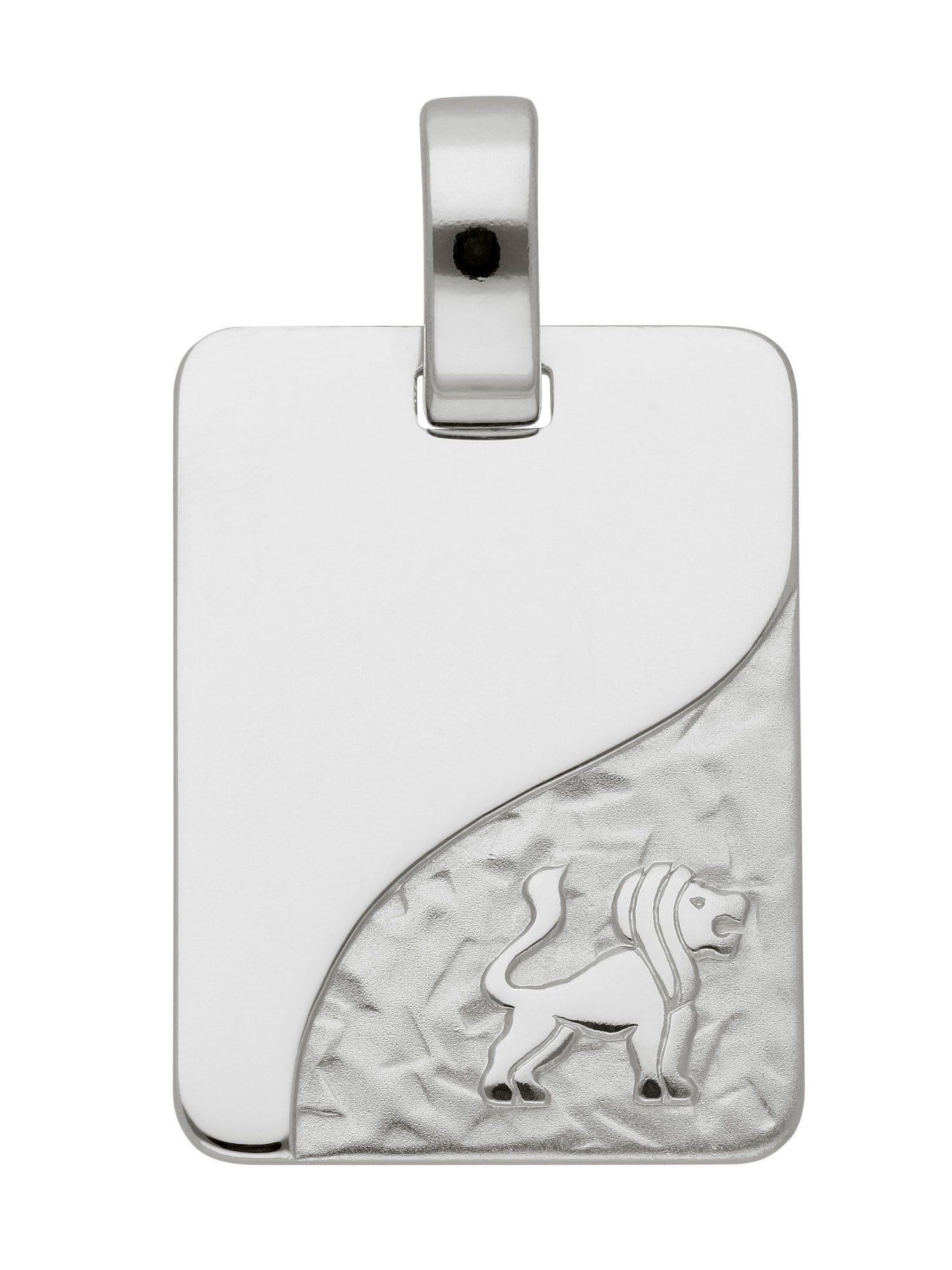 Adelia´s Kettenanhänger »Sternzeichen Silber Anhänger« Löwe 925 Sterling Silber