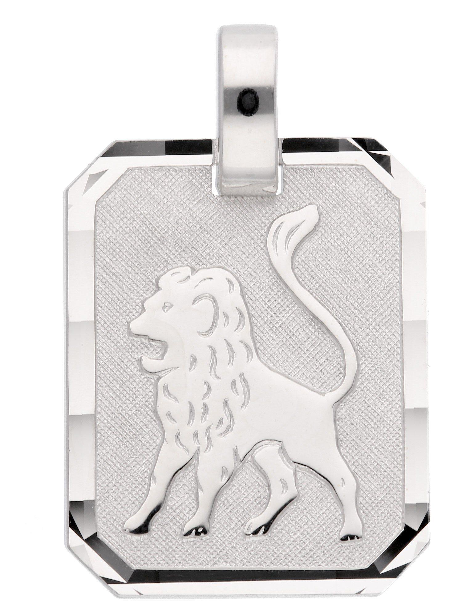 Adelia´s Kettenanhänger »Sternzeichen Silber Anhänger«, Löwe 925 Sterling Silber | Schmuck > Halsketten > Ketten ohne Anhänger | Silber | Adelia´s