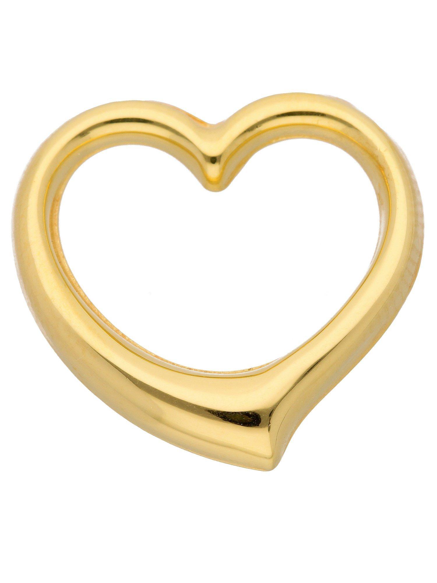 Adelia´s Kettenanhänger »Gold Anhänger« Swingheart 14 k 585 Gelbgold | Schmuck > Halsketten > Ketten ohne Anhänger | Adelia´s