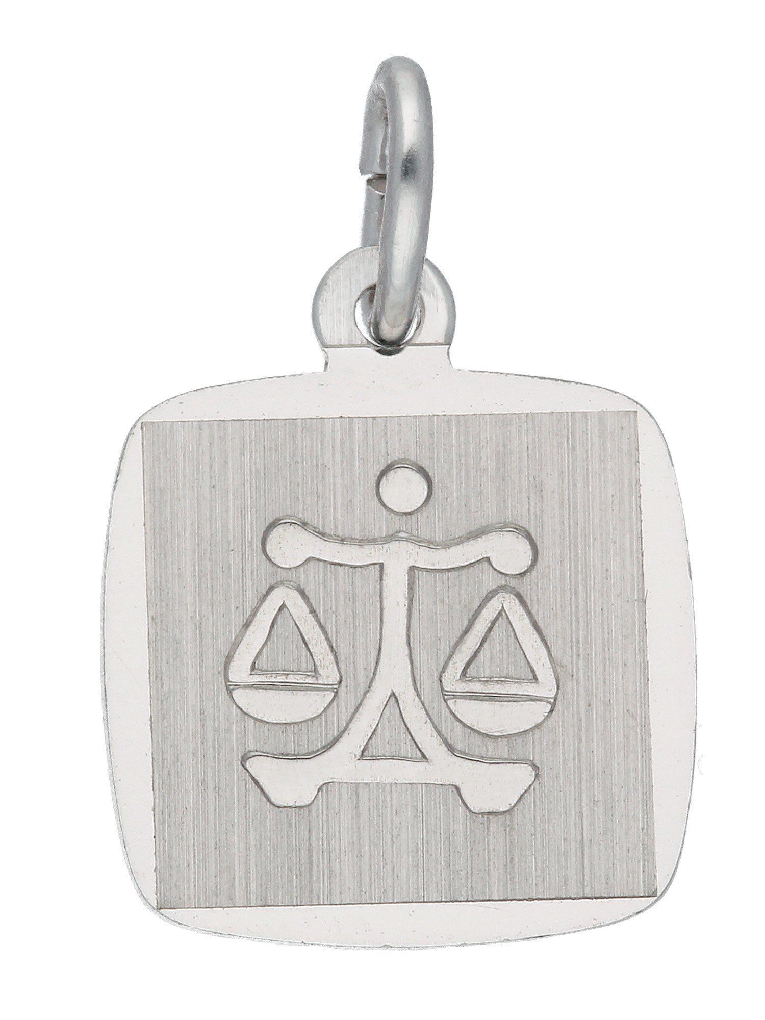 Adelia´s Kettenanhänger »Sternzeichen Silber Anhänger«, Waage 925 Sterling Silber | Schmuck > Halsketten > Ketten ohne Anhänger | Silber | Adelia´s