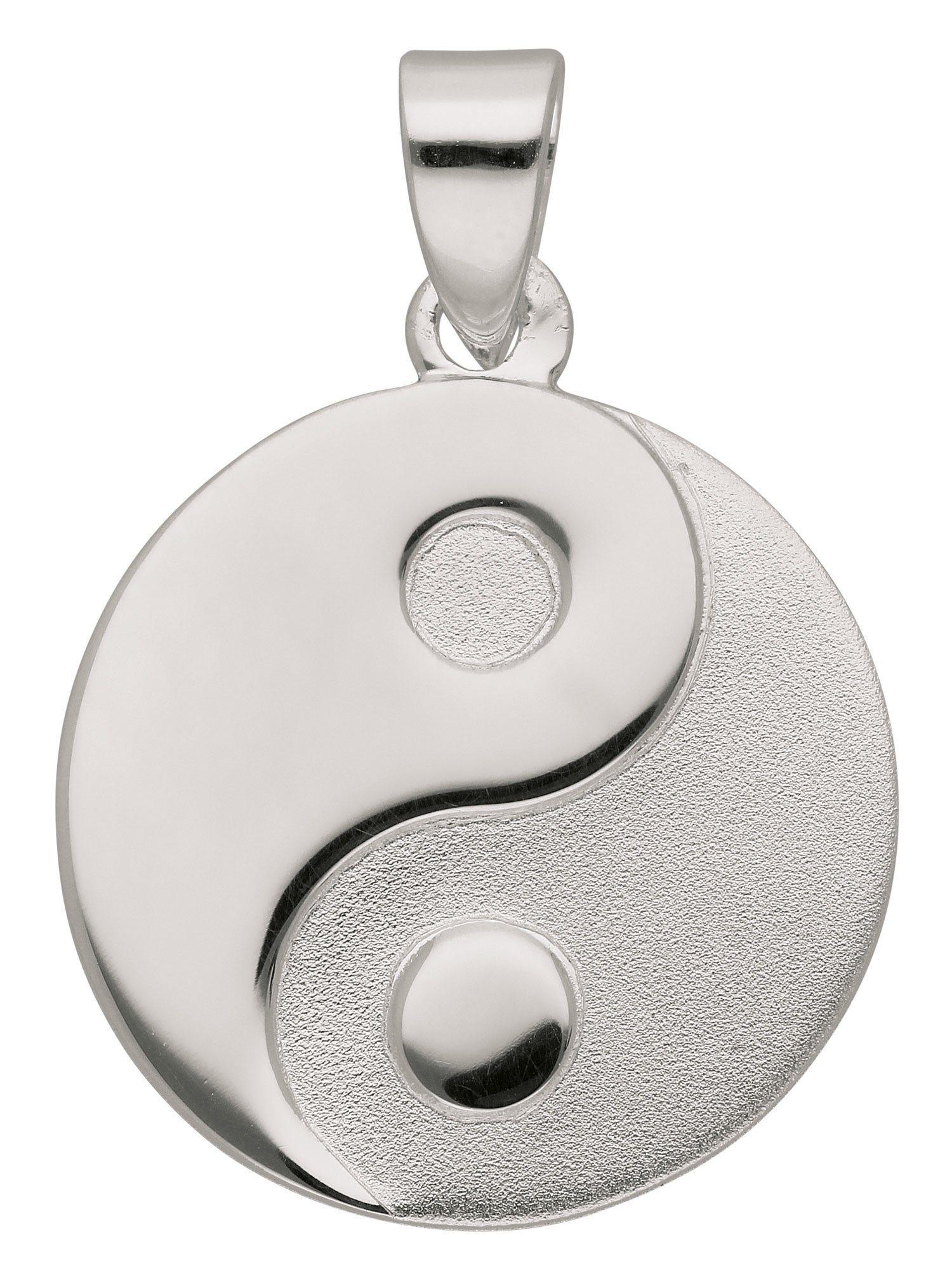 Adelia´s Kettenanhänger »Silber Anhänger« Ying Yang 925 Sterling Silber Ø 1.58 cm | Schmuck > Halsketten > Ketten ohne Anhänger | Silber | Adelia´s