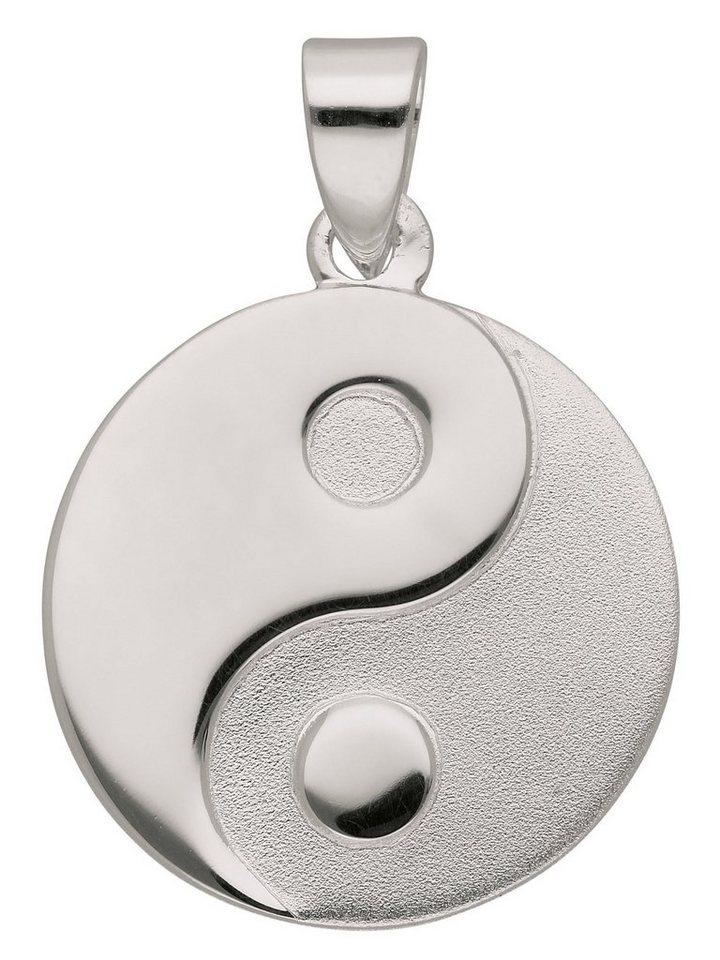 Adelia´s Kettenanhänger »Silber 925 Sterling Silver Motiv - Anhänger« Ying Yang 925 Sterling Silber Ø 1.58 cm | Schmuck > Halsketten > Ketten ohne Anhänger | Adelia´s