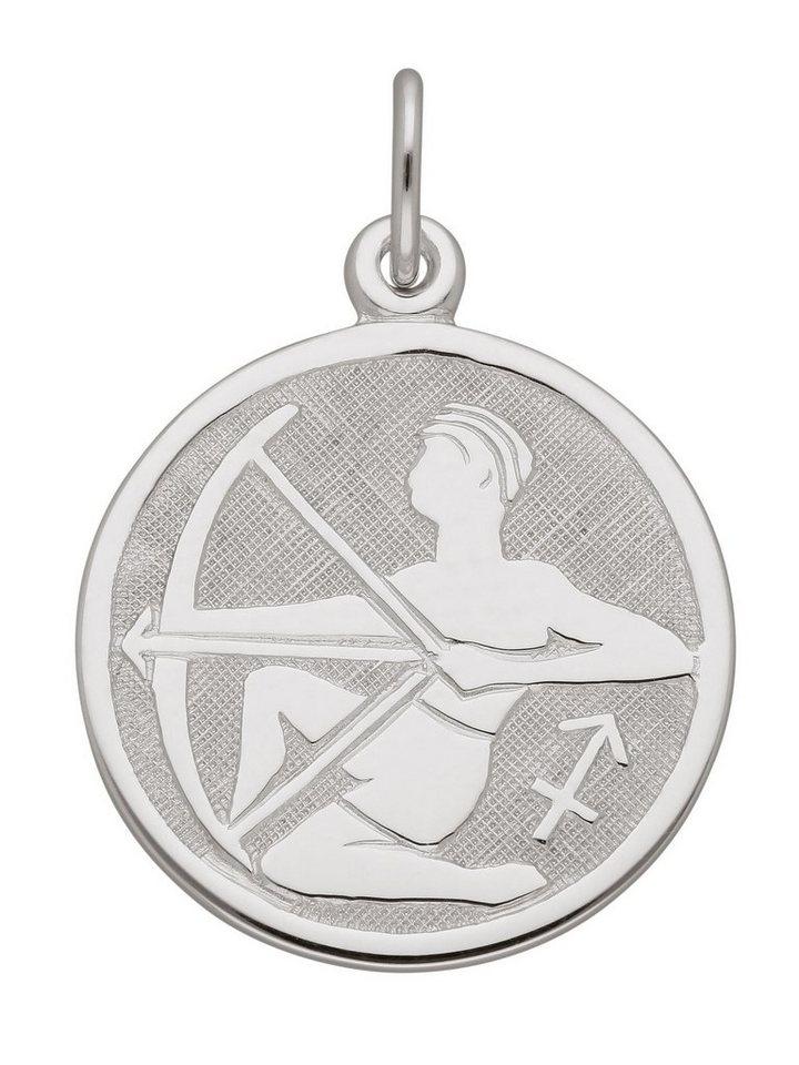Adelia´s Kettenanhänger »Silber 925 Sterling Silver Sternzeichen Anhänger« Schütze 925 Sterling Silber Ø 1.57 cm | Schmuck > Halsketten > Ketten ohne Anhänger | Adelia´s