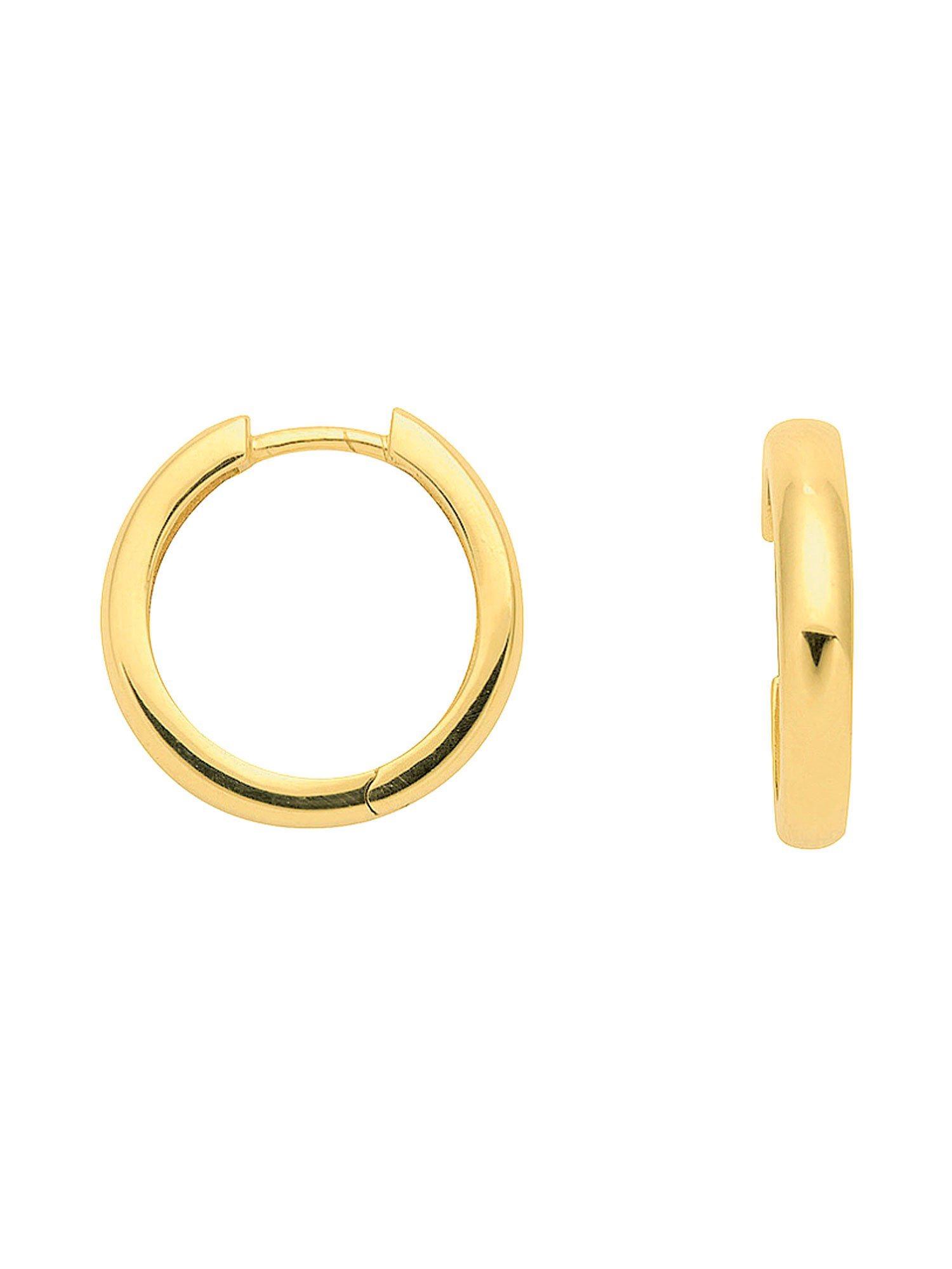 Adelia´s Paar Creolen »Gold Ohrringe« 8 k 333 Gelbgold Ø 1.7 cm   Schmuck > Ohrschmuck & Ohrringe > Creolen   Adelia´s
