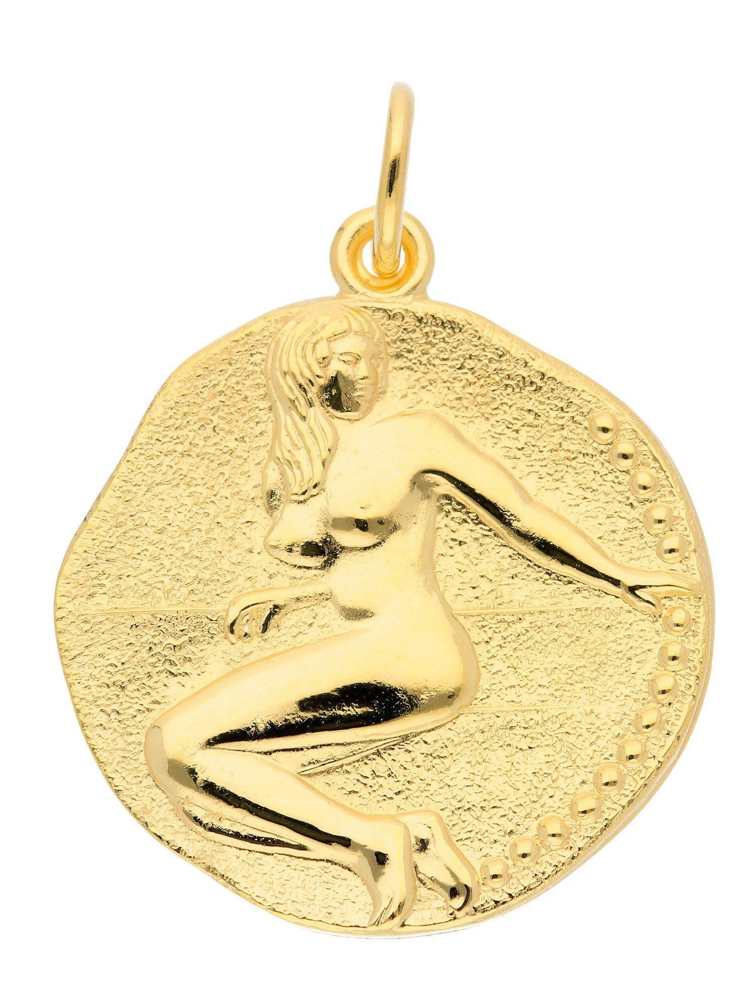 Adelia´s Kettenanhänger »Sternzeichen Gold Anhänger« Jungfrau 8 k 333 Gelbgold Ø 1.82 cm