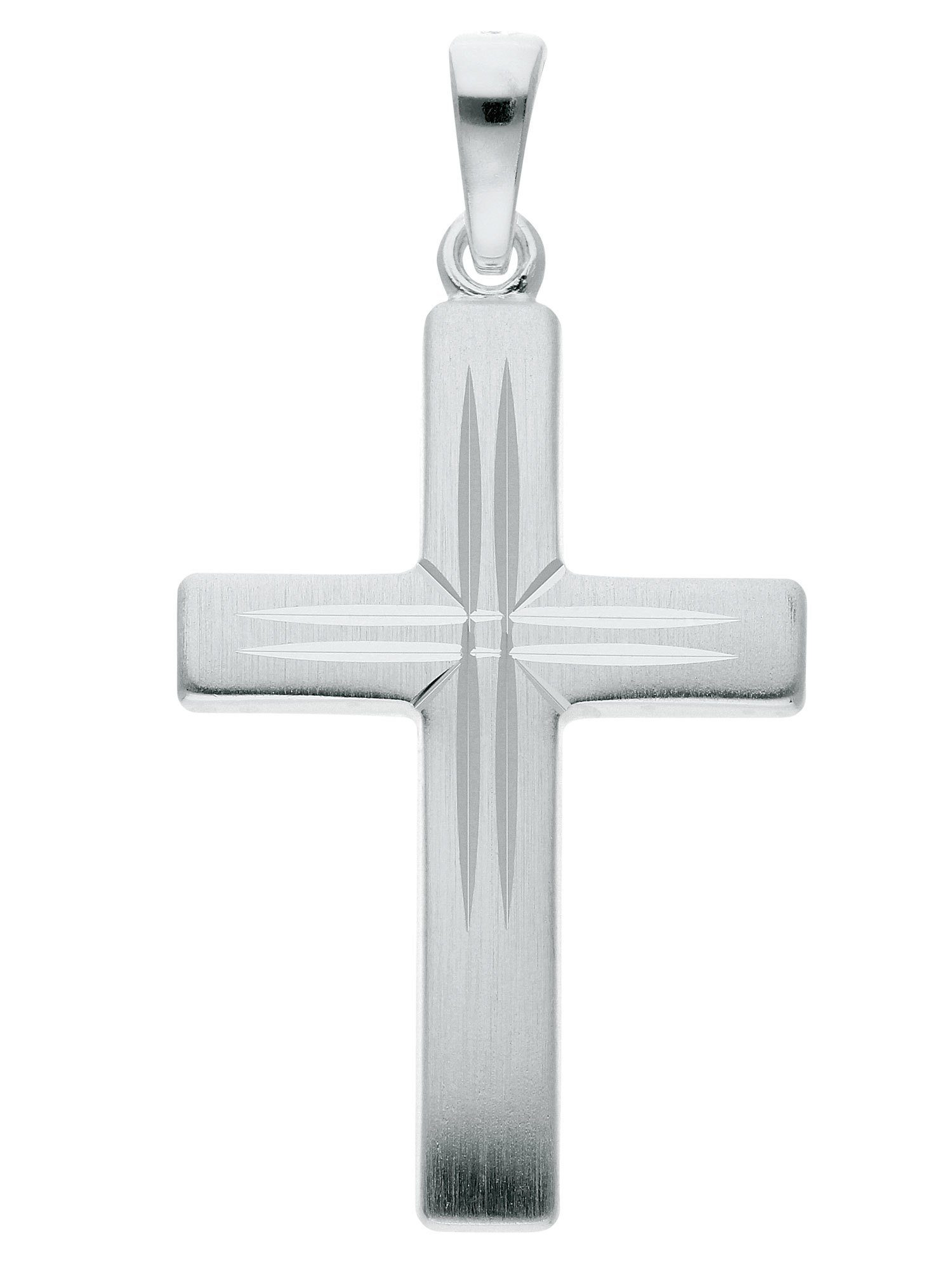 Adelia´s Silver Kreuz Kettenanhänger Sterling Anhänger« 925 Online Kaufen »silber Silber vm0nw8N