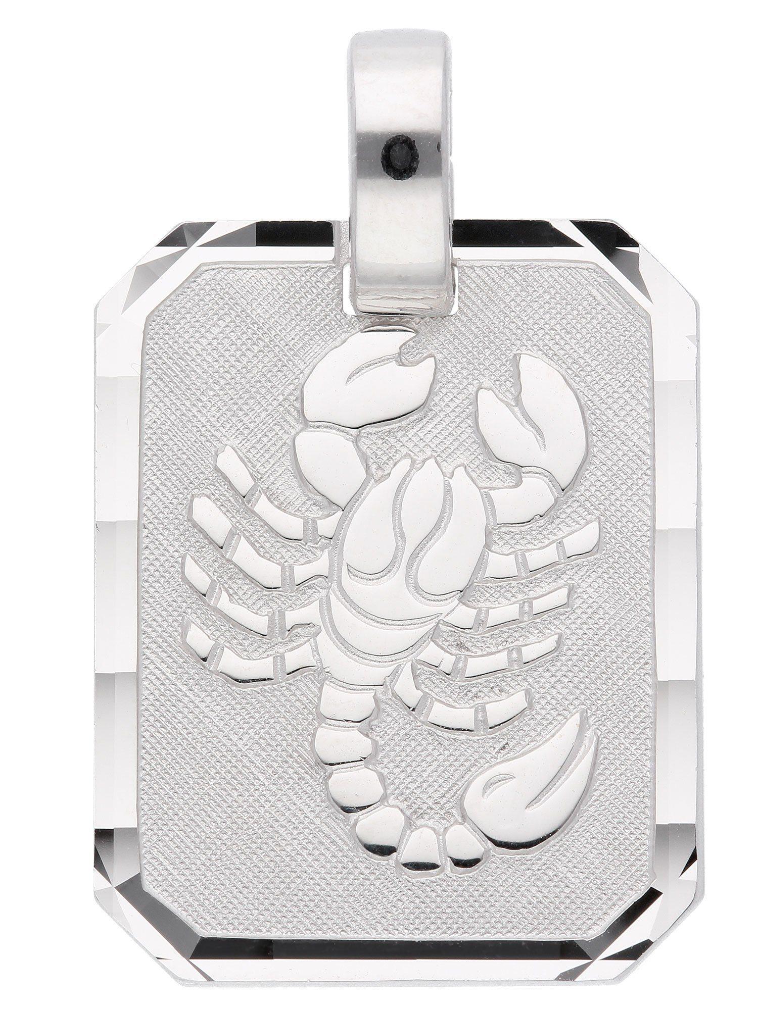 Adelia´s Kettenanhänger »Sternzeichen Silber Anhänger« Skorpion 925 Sterling Silber | Schmuck > Halsketten > Ketten ohne Anhänger | Silber | Adelia´s
