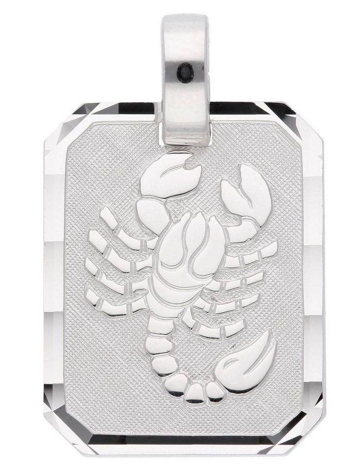 Adelia´s Kettenanhänger »Silber 925 Sterling Silver Sternzeichen Anhänger« Skorpion 925 Sterling Silber   Schmuck > Halsketten > Ketten ohne Anhänger   Adelia´s