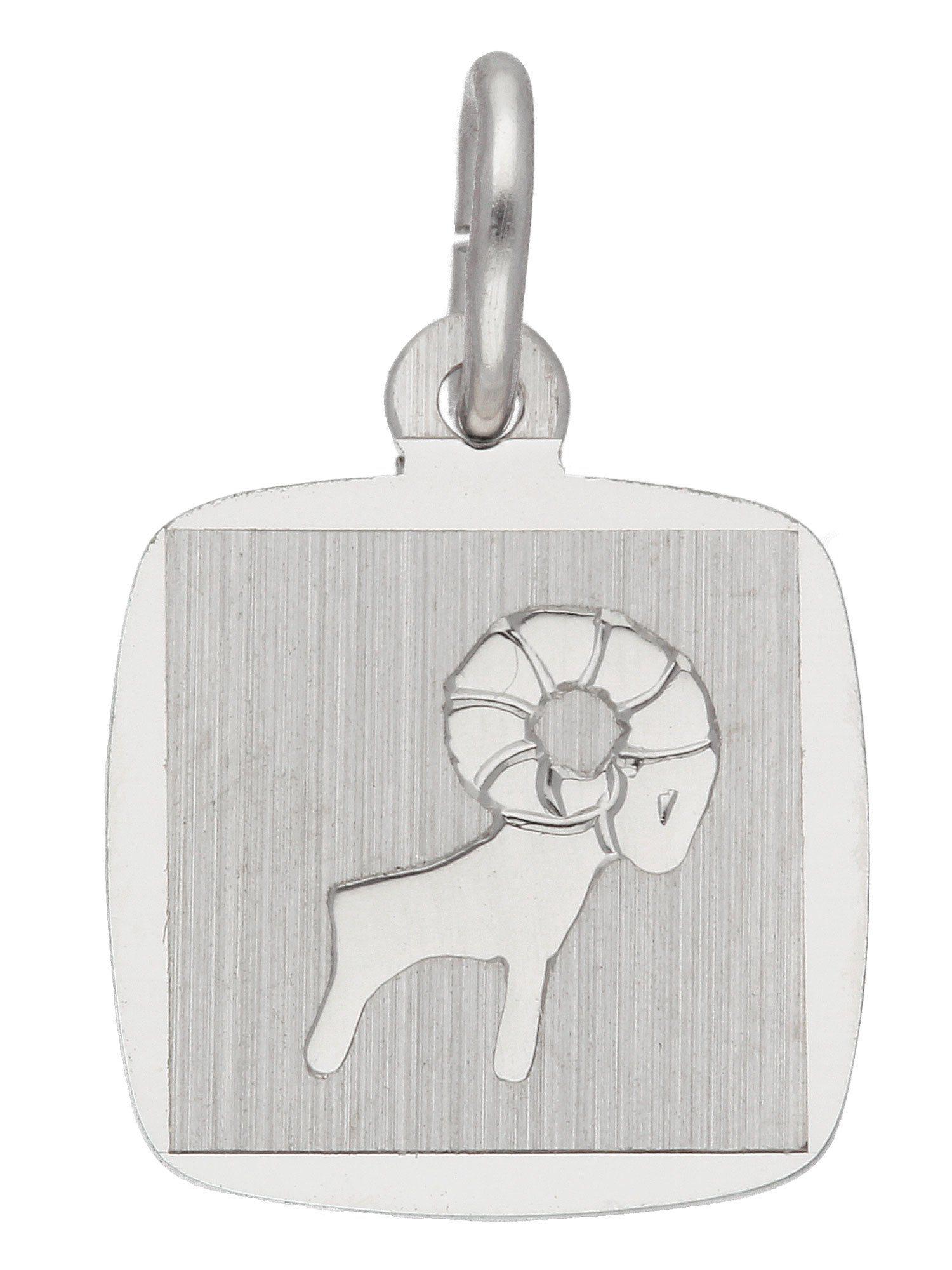Adelia´s Kettenanhänger »Sternzeichen Silber Anhänger« Widder 925 Sterling Silber | Schmuck > Halsketten > Ketten ohne Anhänger | Silber | Adelia´s