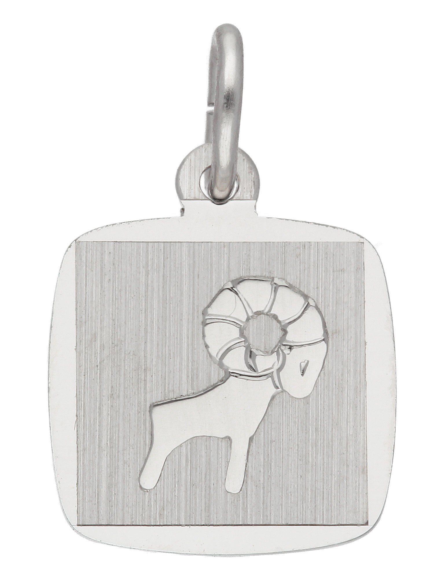 Adelia´s Kettenanhänger »Sternzeichen Silber Anhänger« Widder 925 Sterling Silber