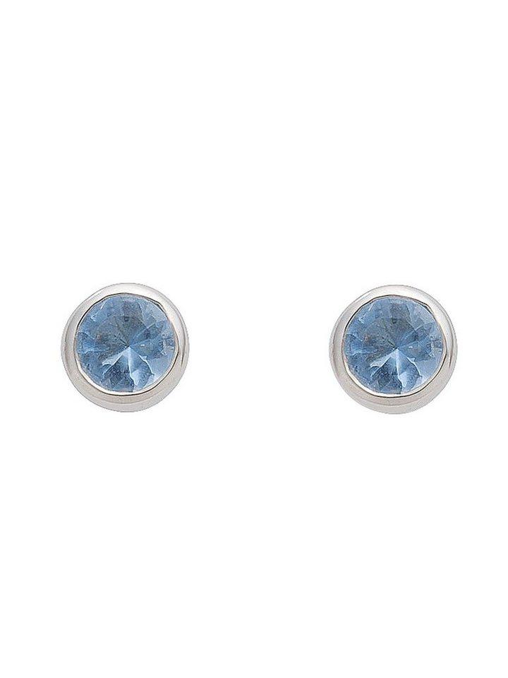 a5177071130e Adelia´s Paar Ohrstecker »Silber Ohrringe« 925 Sterling Silber mit Zirkonia  Ø 5
