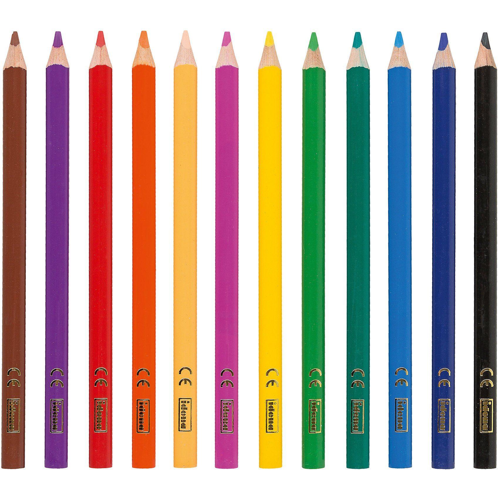 Idena Buntstifte, 12 Farben