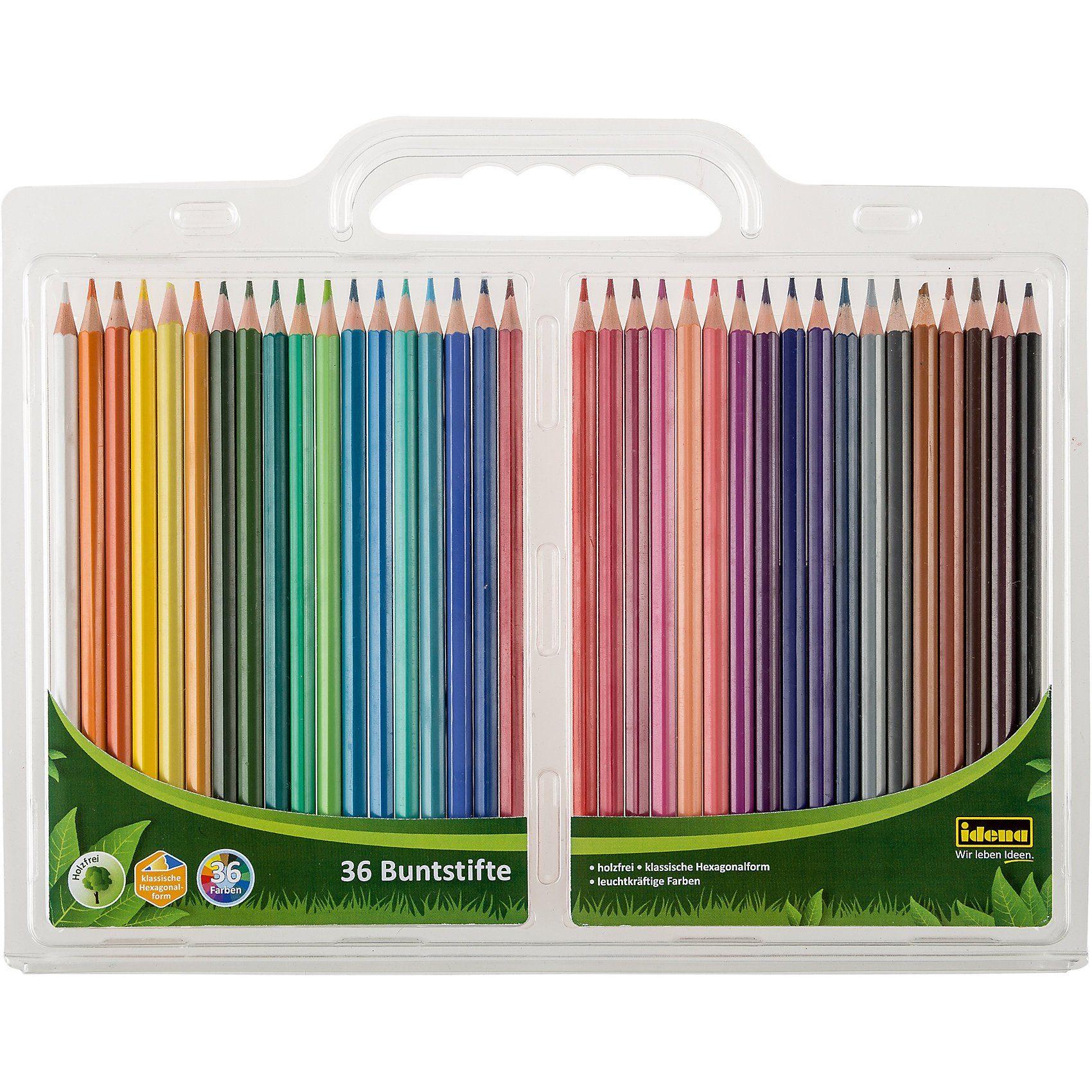 Idena Farbstifte, 36 Farben