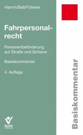 Broschiertes Buch »Fahrpersonalrecht«