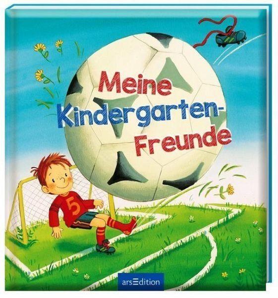 Gebundenes Buch »Meine Kindergarten-Freunde (Fußball)«