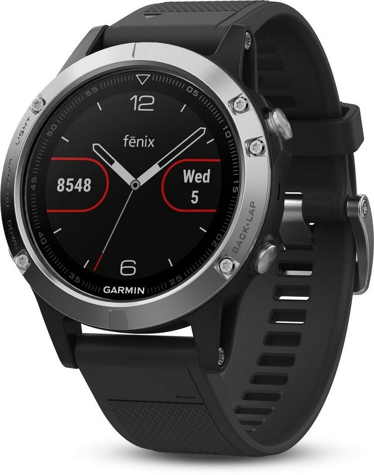 garmin smartwatch fenix 5 online kaufen otto. Black Bedroom Furniture Sets. Home Design Ideas