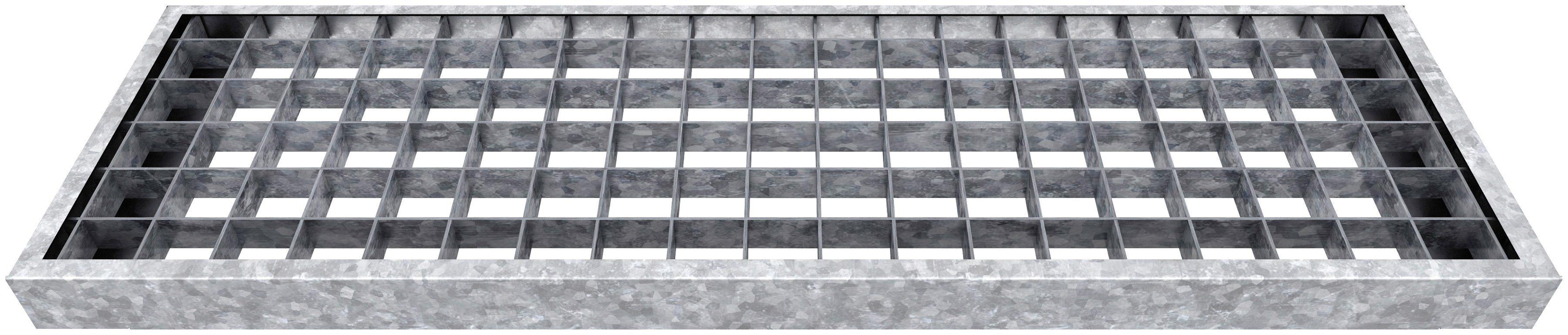DOLLE Gitterroststufe »Gardentop«, BxTxH: 100x23x3 cm