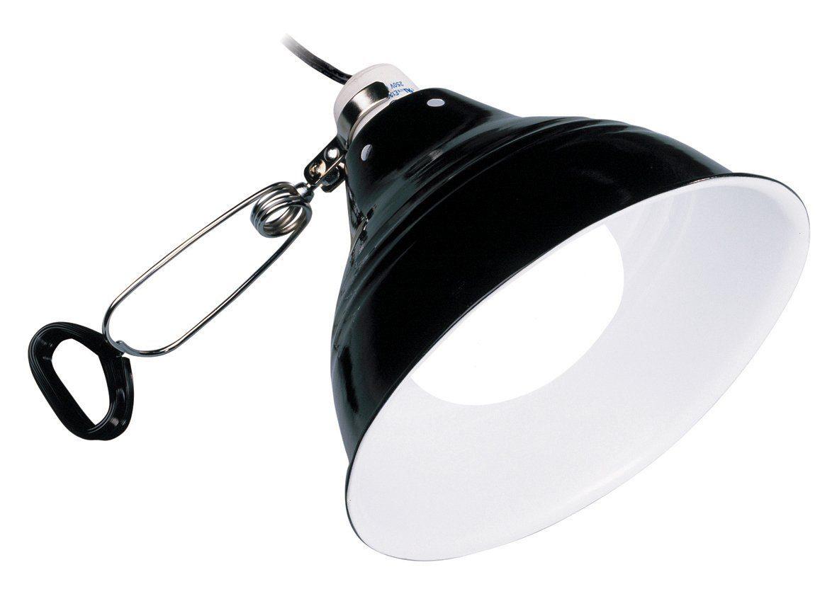 EXO TERRA Klemmleuchte »Glow Light«, mit fluoreszierendem Reflektor, Ø: 14 cm