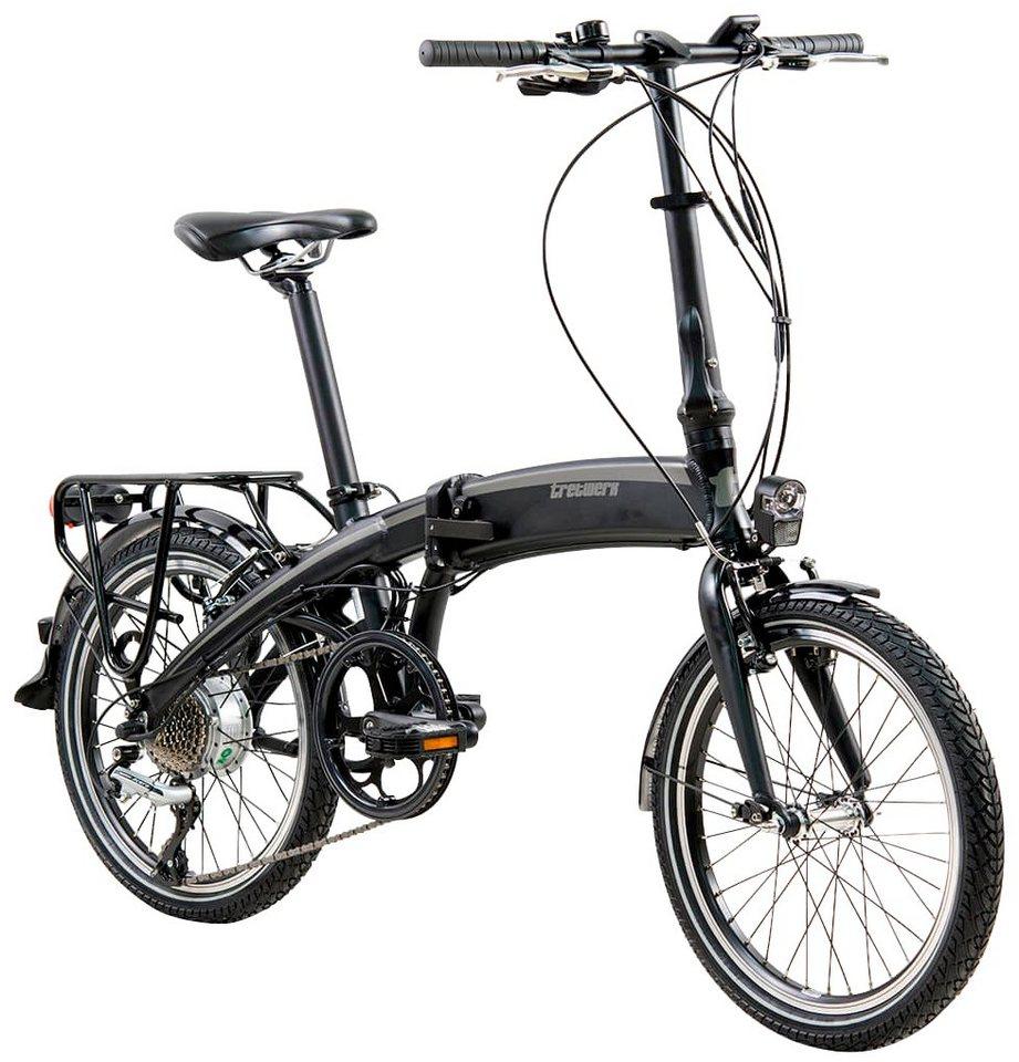 tretwerk e bike klapprad wega 20 zoll 8 gang. Black Bedroom Furniture Sets. Home Design Ideas