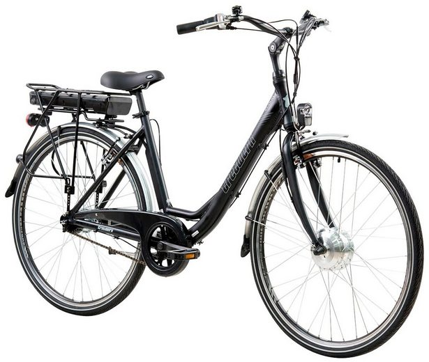 TRETWERK E-Bike City »Cloud 1.5«, 28 Zoll, 7 Gang, Frontmotor, 374,4 Wh