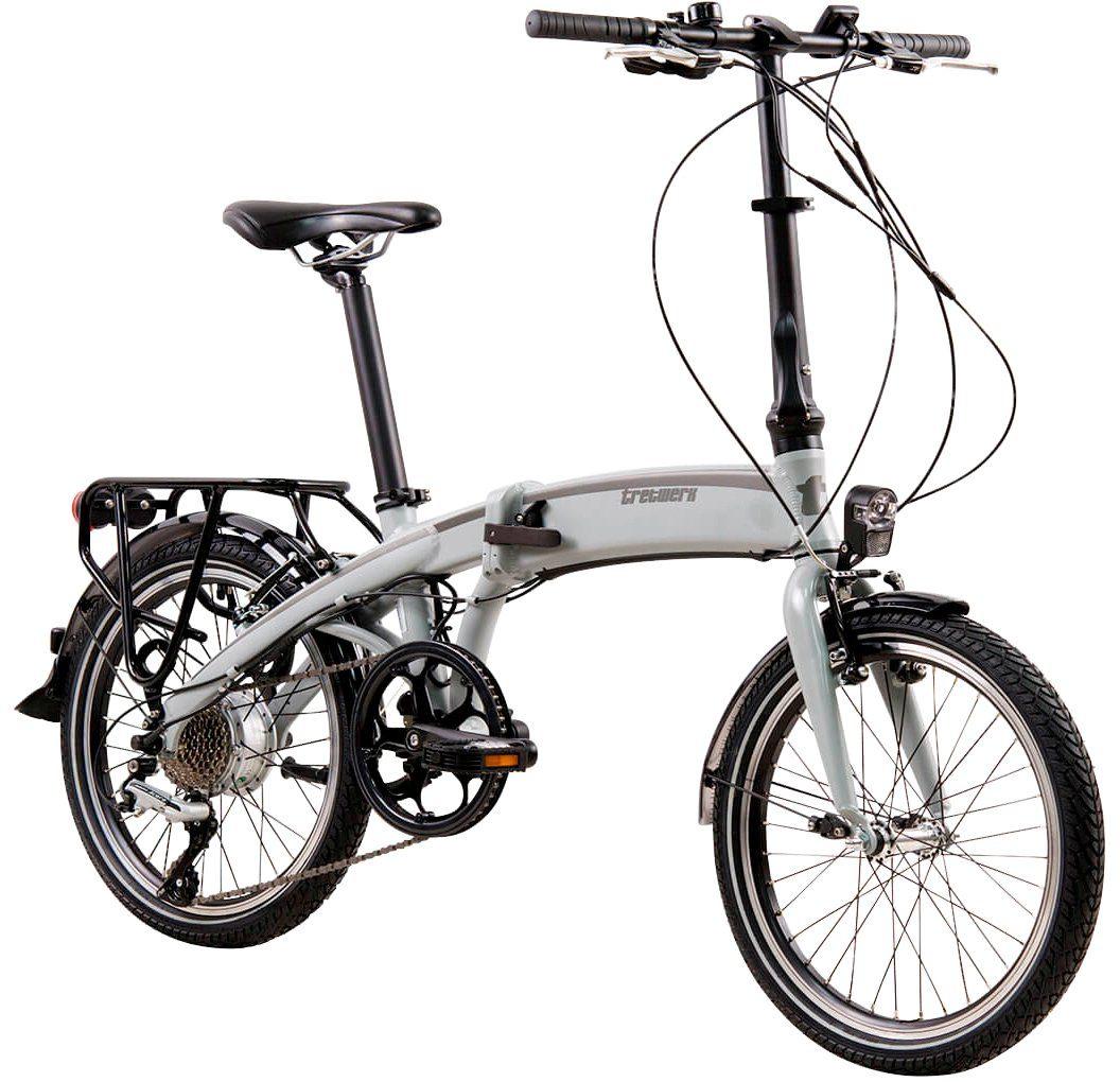 TRETWERK E-Bike Klapprad »Wega«, 20 Zoll, 8 Gang, Heckmotor, 313,2 Wh