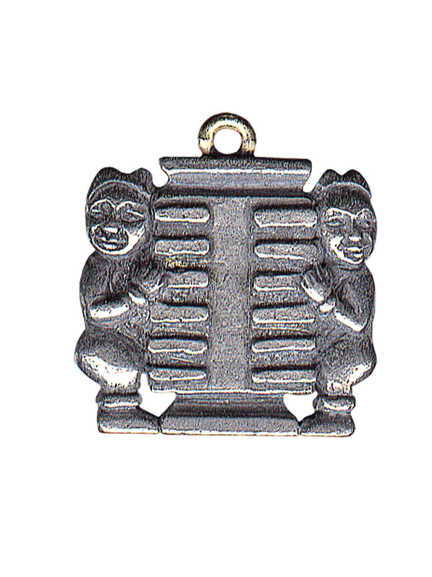 Adelia´s Amulett Amulett Anhänger Das doppelte Kun - Trigramm