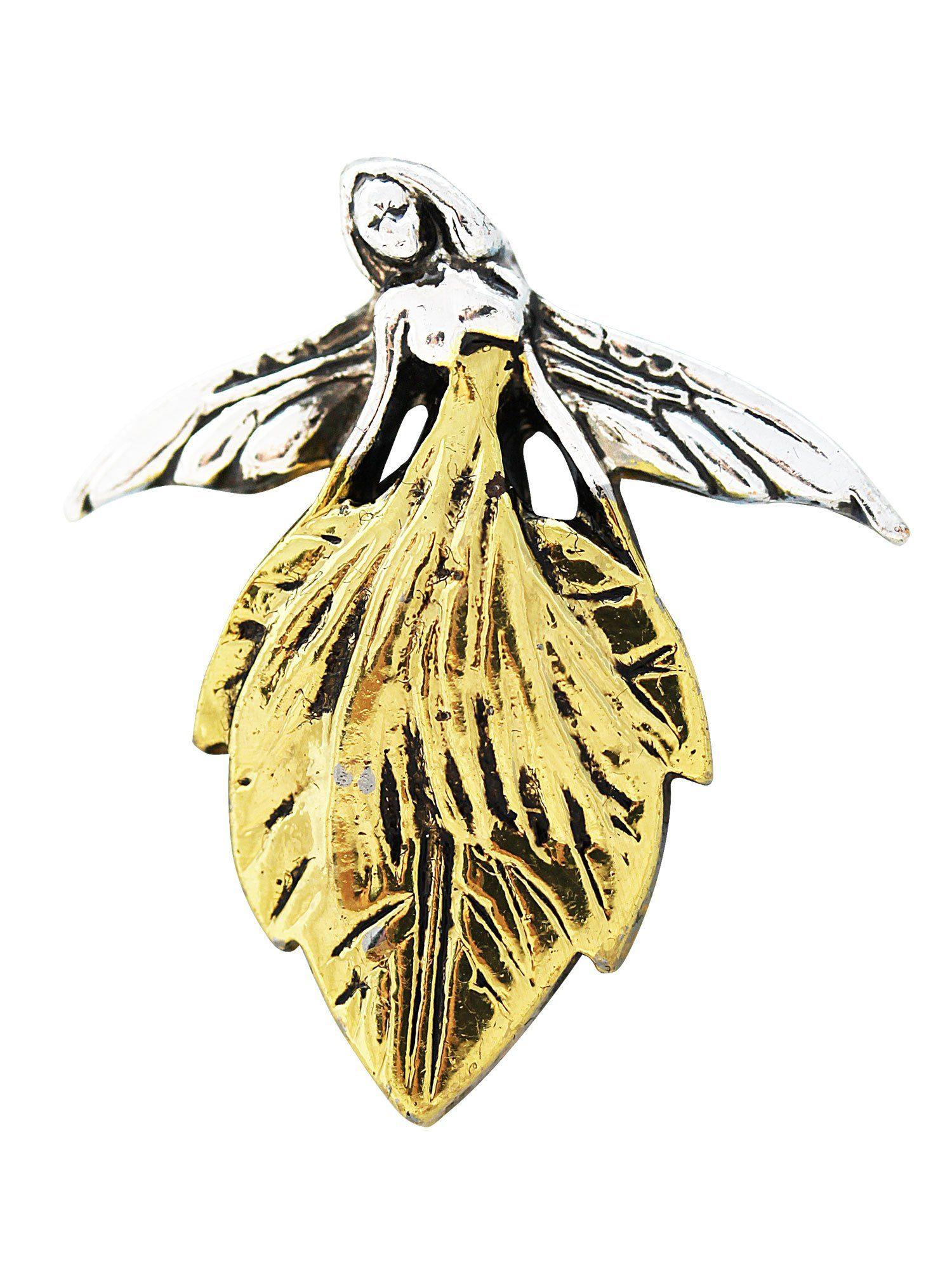 Adelia´s Amulett Amulett Anhänger Blattelfe