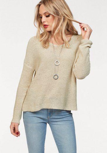 Only V-Ausschnitt-Pullover »GABBI«