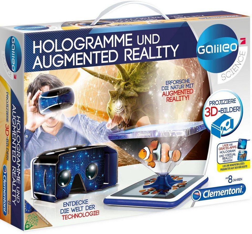 Clementoni Experimentierkasten,  Galileo Hologramme und Augmented Reality  online kaufen