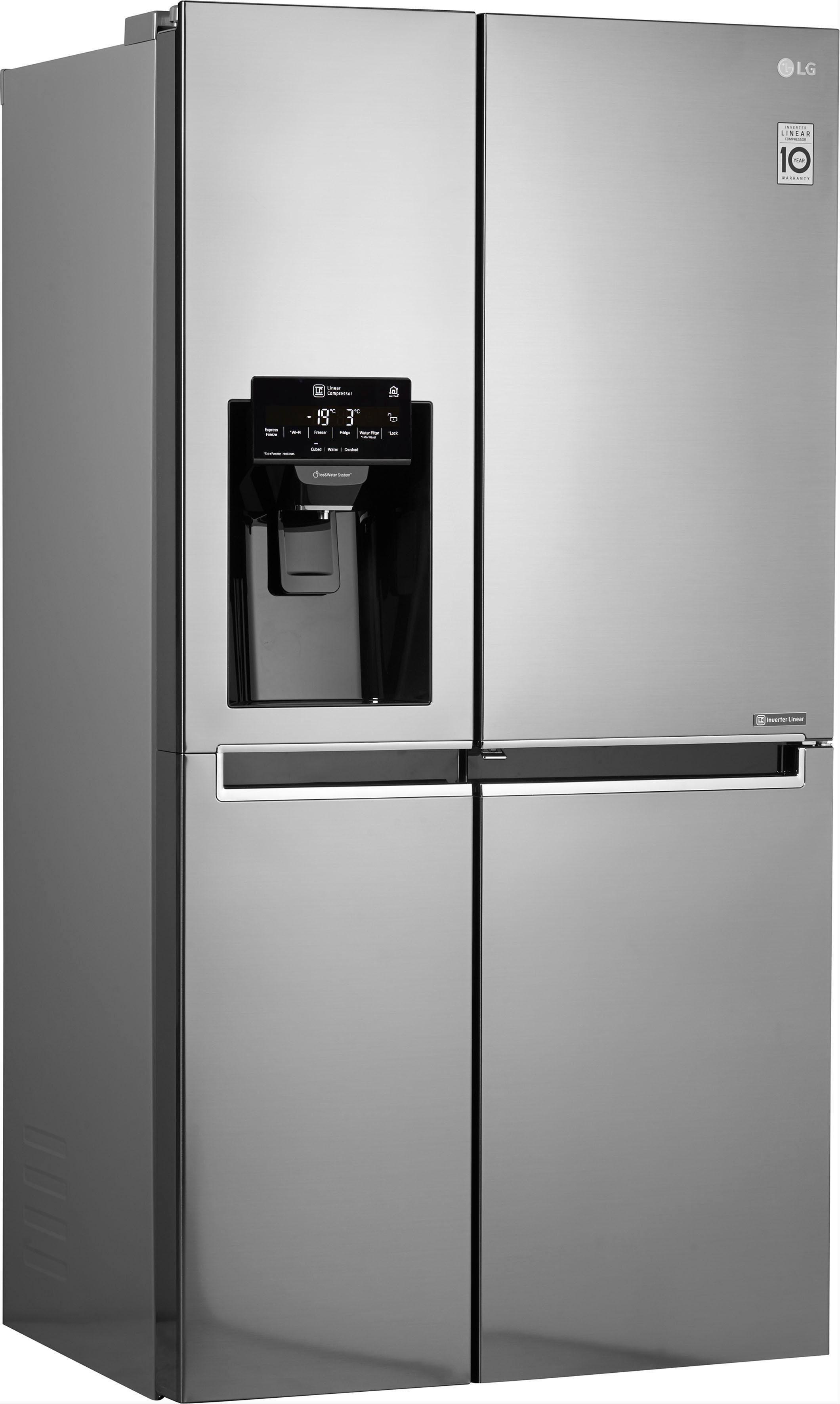 LG Side-by-Side GSJ 760 PZUZ, 179 cm hoch, 91,2 cm breit