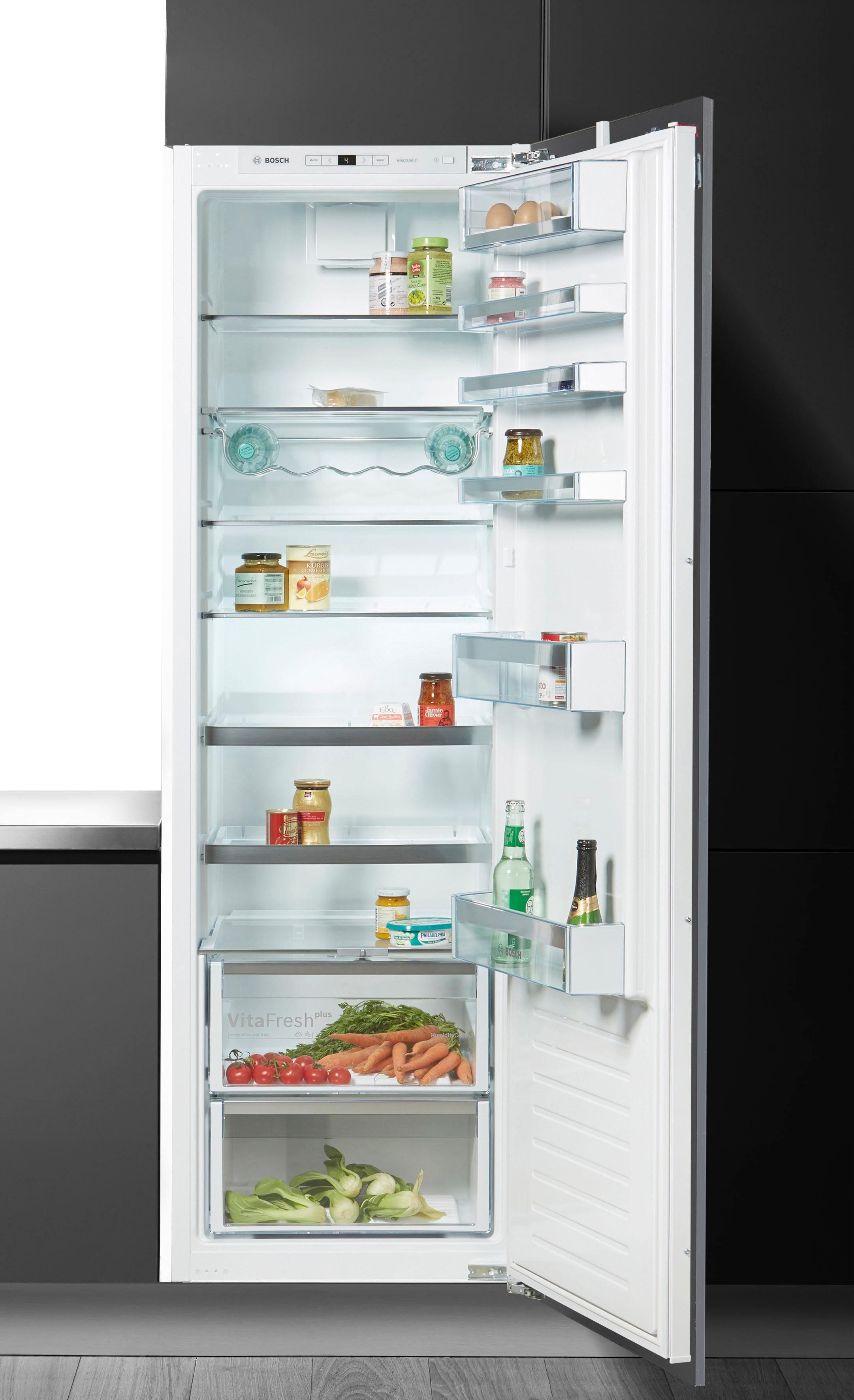 BOSCH Einbaukühlschrank KIR81AF30, 177,2 cm hoch, 55,8 cm breit, Energieklasse A++, 177,5 cm hoch