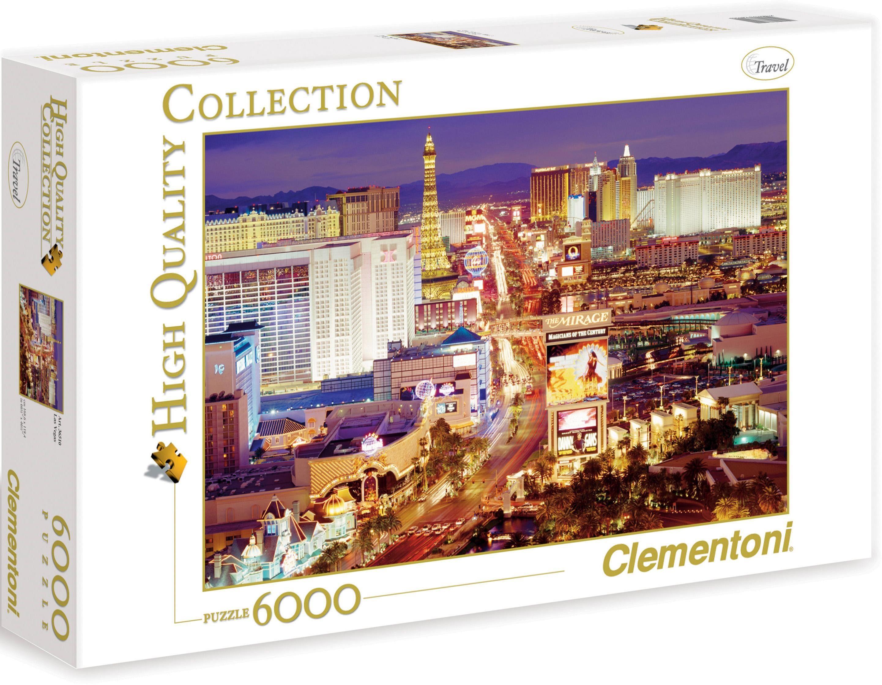 Clementoni® Puzzle »Las Vegas«, 6000 Teilig