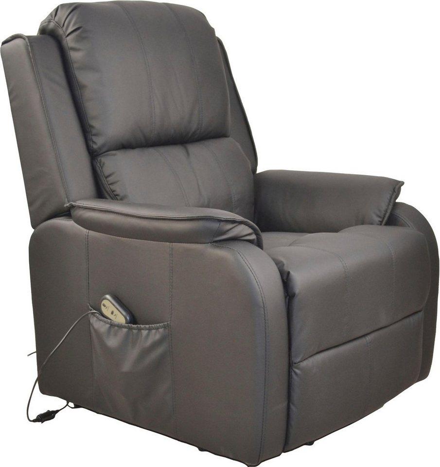 home affaire relaxsessel mit aufstehhilfe ma e b t h. Black Bedroom Furniture Sets. Home Design Ideas