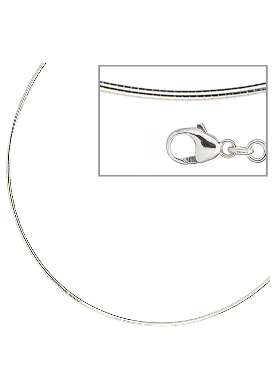 JOBO Halsreif 925 Silber 42 cm 1,1 mm