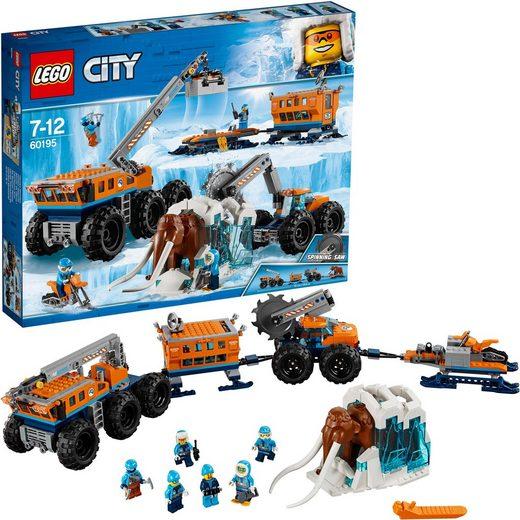 LEGO® Konstruktionsspielsteine »Mobile Arktis-Forschungsstation (60195), LEGO® City«, Kunststoff, (786 St)