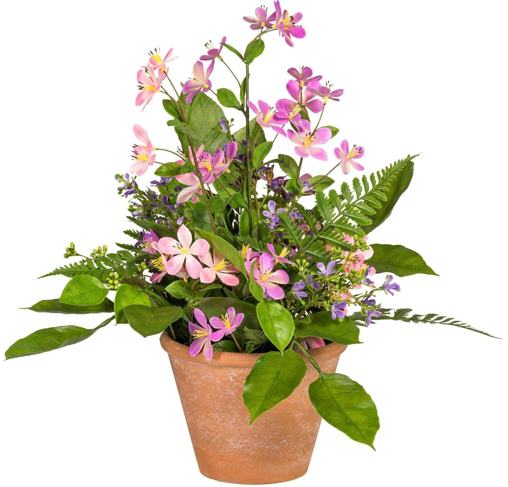 Künstliche Zimmerpflanze »Wiesenblumenarrangement«, ca. 37 cm