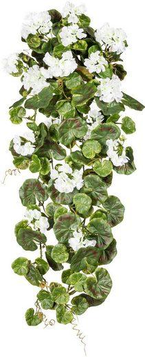 Kunstpflanze »Geranienhänger«, Creativ green, Höhe 80 cm