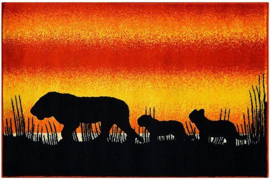 Kinderteppich »Lol Kids 4426«, Arte Espina, rechteckig, Höhe 11 mm, Löwen Motiv