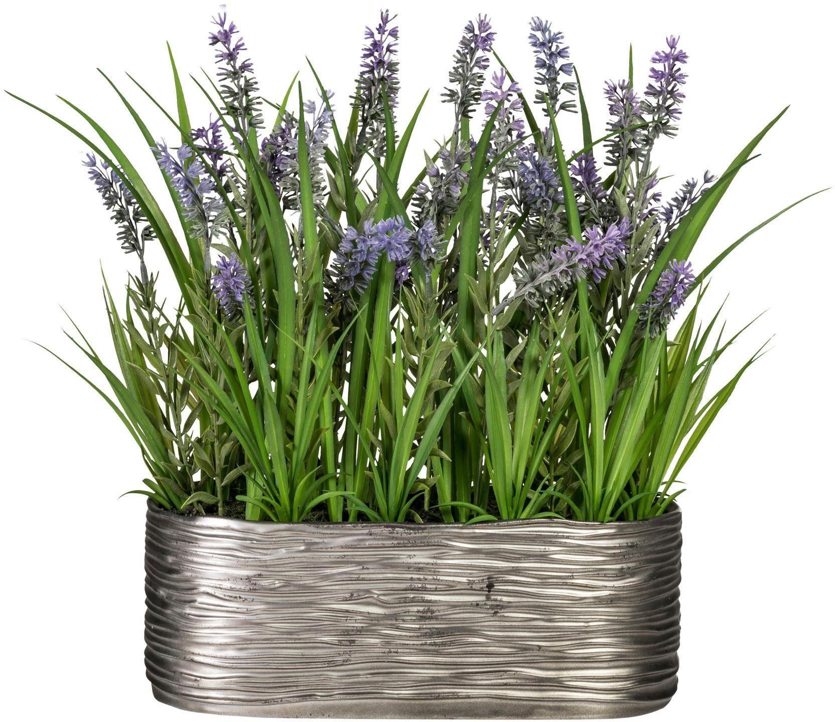 Kunstgras »Lavendel«, ca. 35 cm