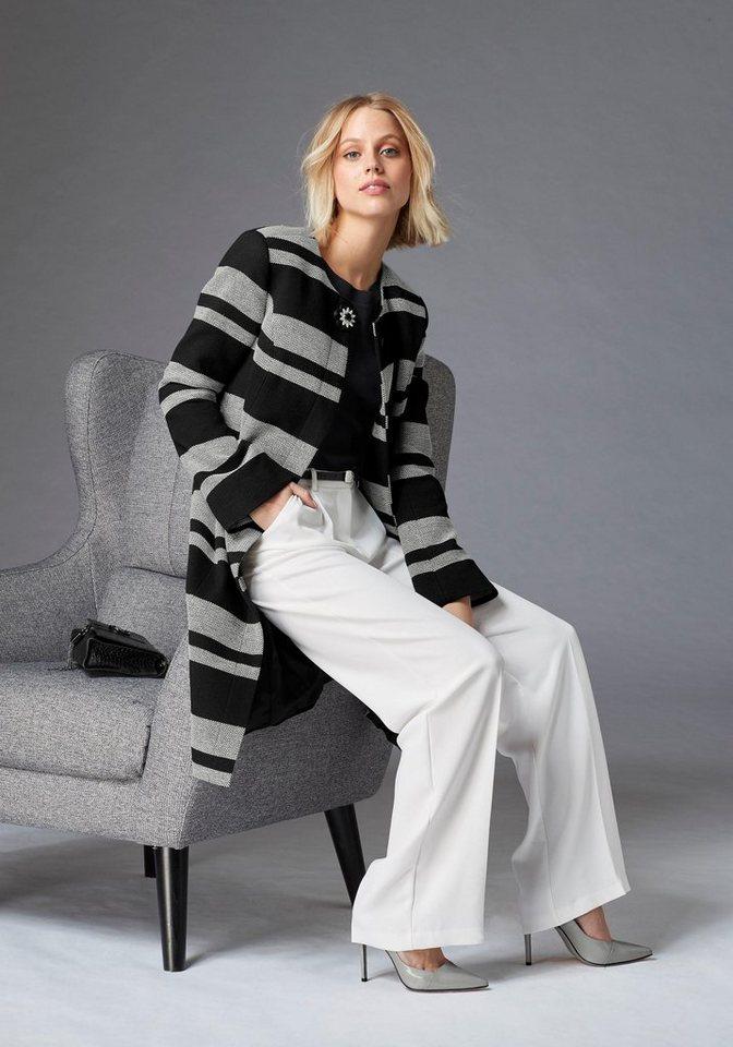 guido maria kretschmer langmantel mit abnehmbarer brosche online kaufen otto. Black Bedroom Furniture Sets. Home Design Ideas