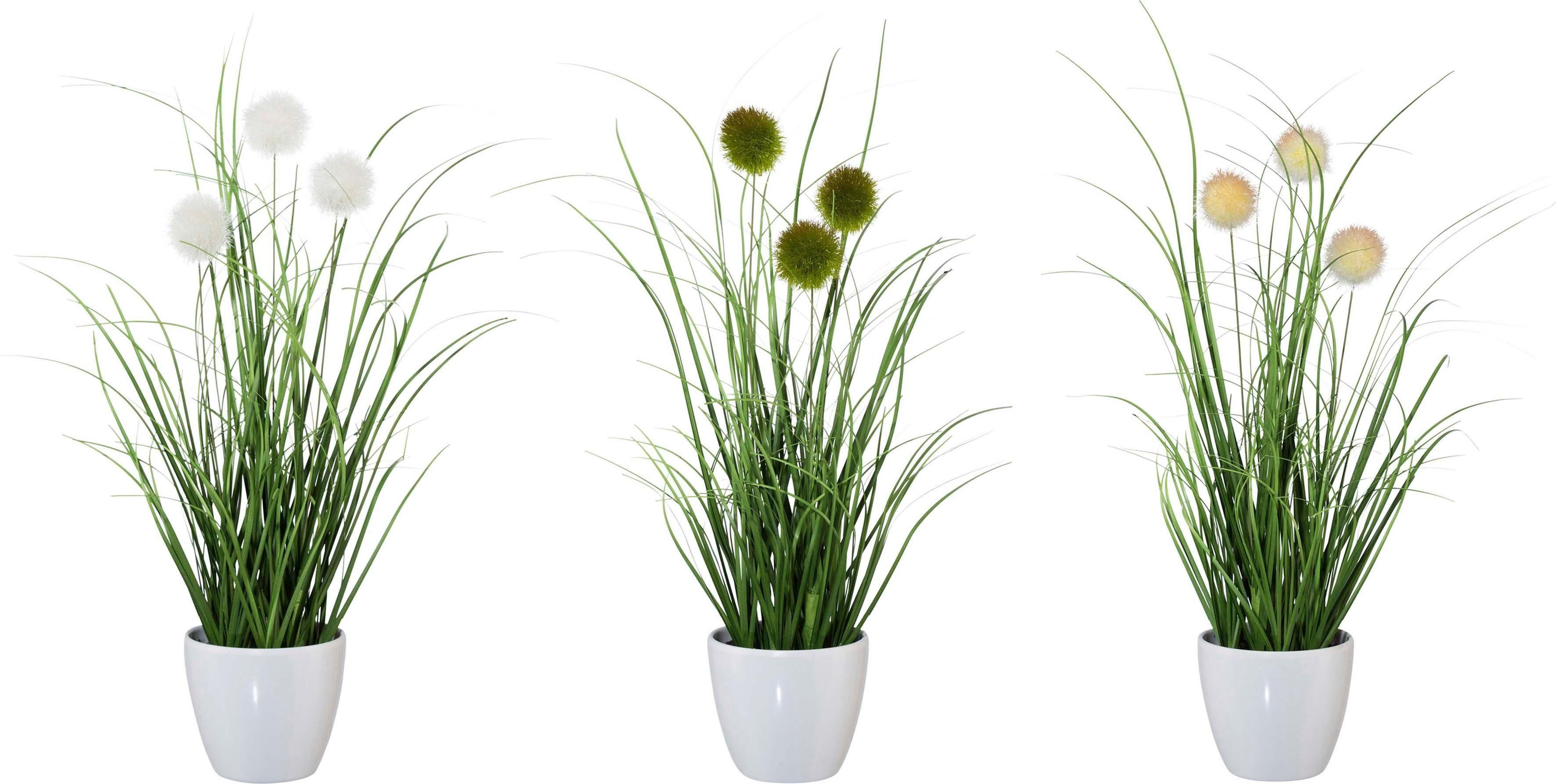 Kunstgras »Grasbusch« (3er-Set)